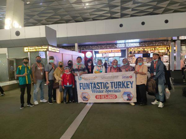 group tour turki Desember 2020